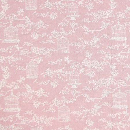 Birdcage Toile Pink